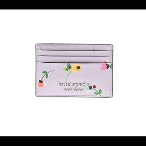 Kate Spade Cameron Floral Ditsy Card Case Holder